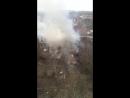 Пожар в садах на Извилистой д7 17 03 18 12 56 Это Ростов на Дону