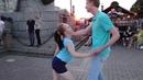 Денис Михайлов и Анастасия Протасова - хастл на Стрелке В.О. 14.07.18 г.