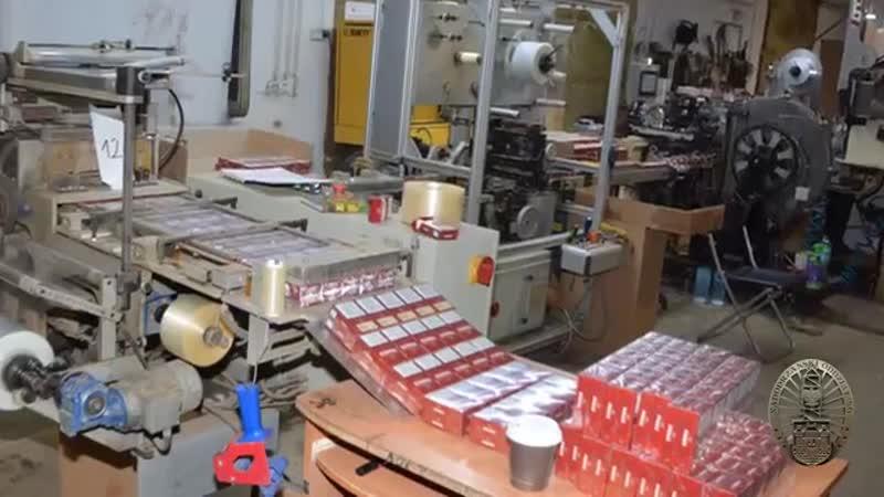 польские пограничники ликвидировали производство нелегальных сигарет