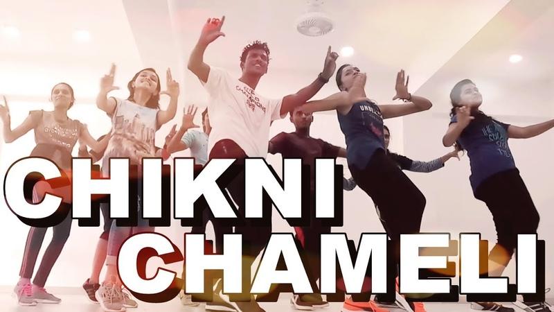 Zumba Dance Routine || Bollywood || Chikni Chameli || Agneepath || Choreography Ganesh Manwar