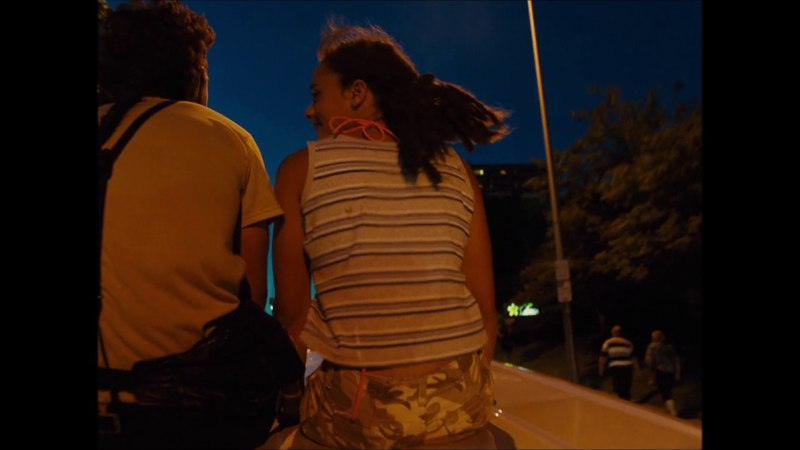 Jake and Star on Top of the Car | American Honey (2016) | 1080p HD