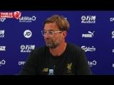 Crystal Palace 0-2 Liverpool Jurgen Klopp Post Match Press Conference