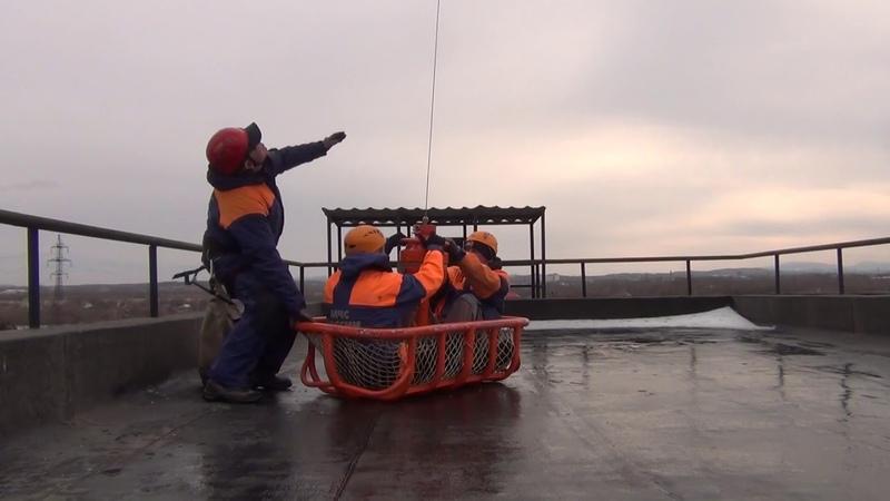 Межведомственное учение по ликвидации аварии на объекте ТЭК в Хабаровске