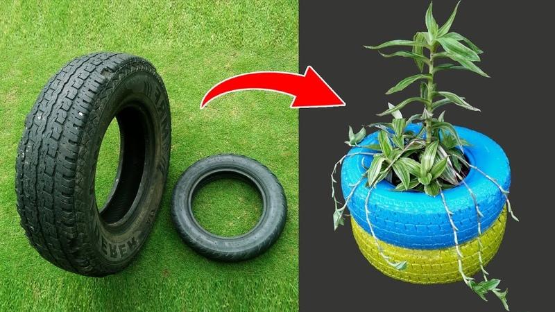 Recycled Tyre DIY Creative Ideas