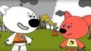 Раскраска - Ми-ми-мишки - Розовые очки - Развивающие мультики для малышей - выпуск 32