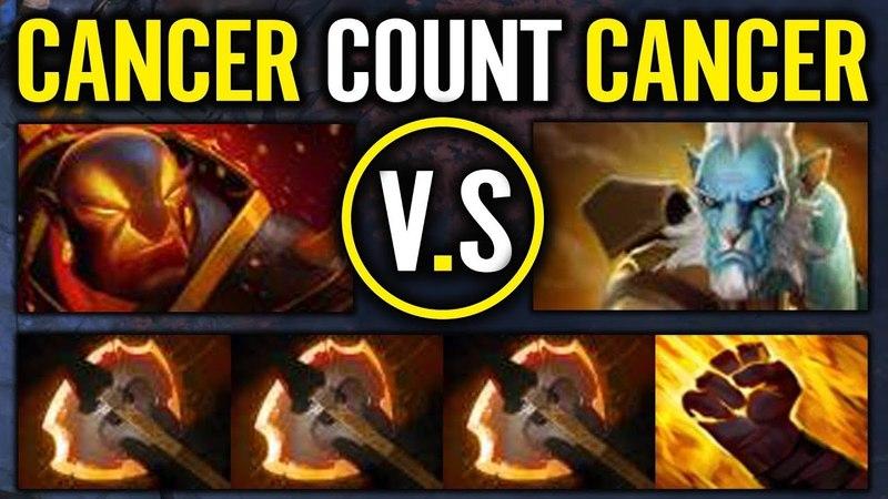 Cancer Build - 3 battle fury Ember spirit Abed.Liquip dota 2 gameplay