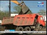 На Маратовской развязке в Иркутске снова началась стройка