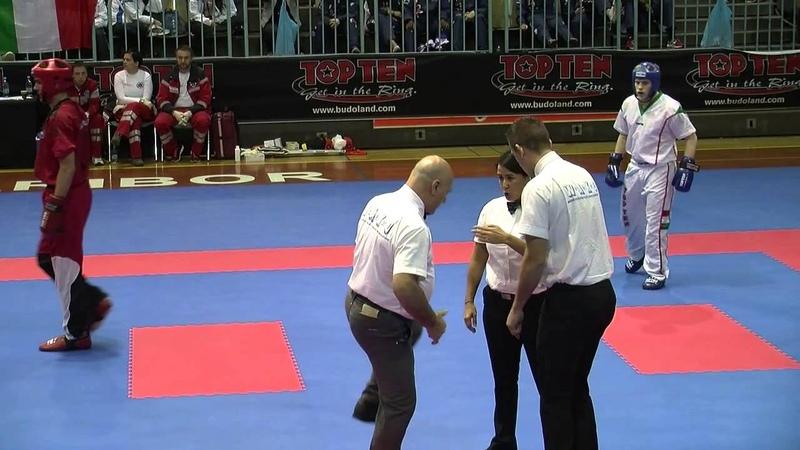 Emanuil Dimitrov BUL v Alex Veres HUN WAKO European Championships 2014