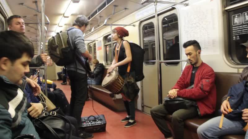 По дороге домой. Музыка в метро