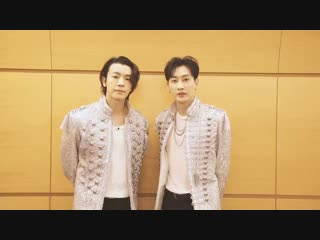[HQ VID] 181024 SJ_NEWS_JP Twitter Update - Dont you think Donghae and Eunhyuks Japanese has gotten better over time So proud~ C