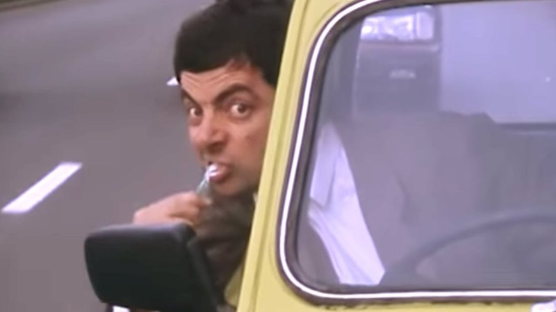 Crazy Driving | Funny Clip | Classic Mr. Bean