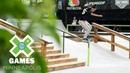 Mariah Duran qualifies first in Women's Skateboard Street X Games Minneapolis 2018