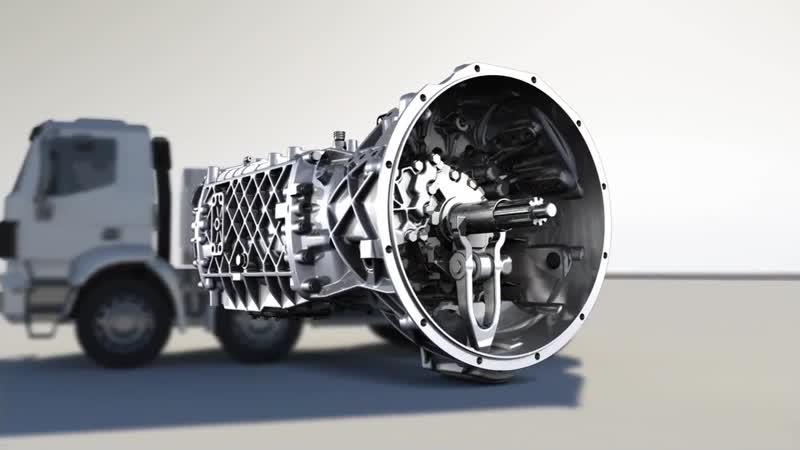 Механическая коробка передач ZF EcoSplit