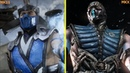 Mortal Kombat 11 vs MKX Character Model Early Comparison