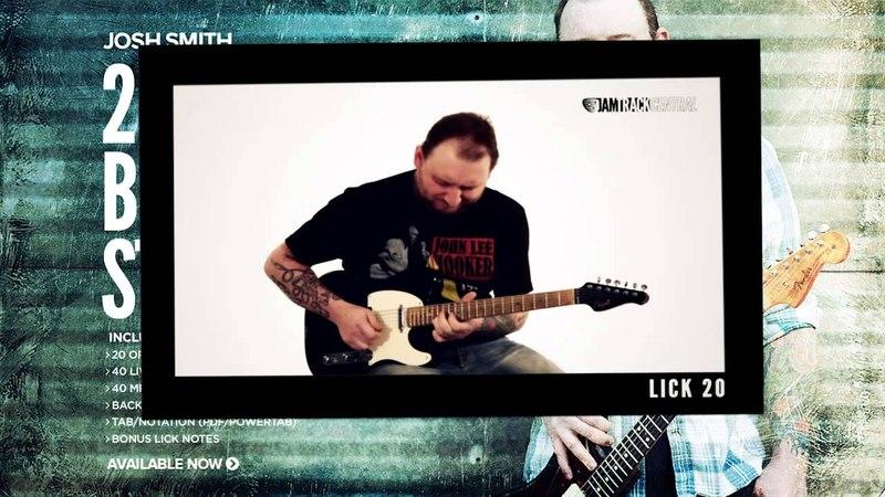 Josh Smiths 20 Licks Blues Stories | JamTrackCentral.com