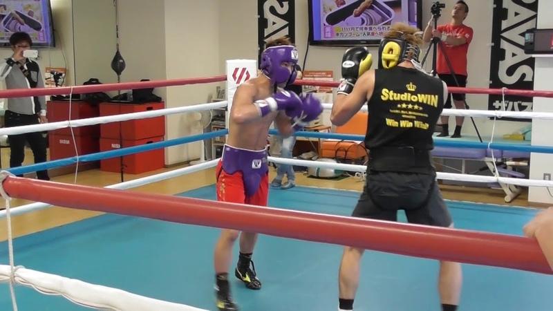 井上尚弥スパー②ボクシング【Naoya Inoue spar 】2017.11.boxing