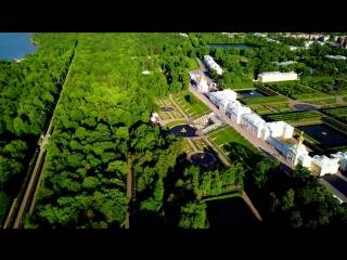 Beautiful Drone Flight Through St Petersburg Russia _ 4K
