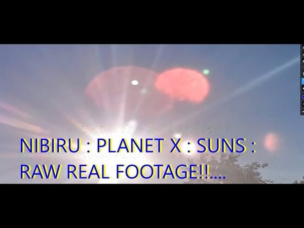 NIBIRU PLANET X ~ FEW MOONS, REAL TIME FOOTAGE !