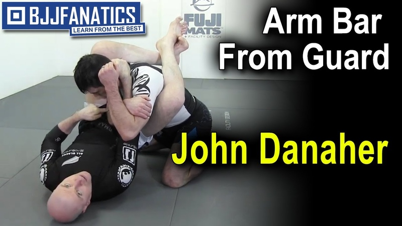 BJJ Moves: Arm Bar From Guard by John Danaher