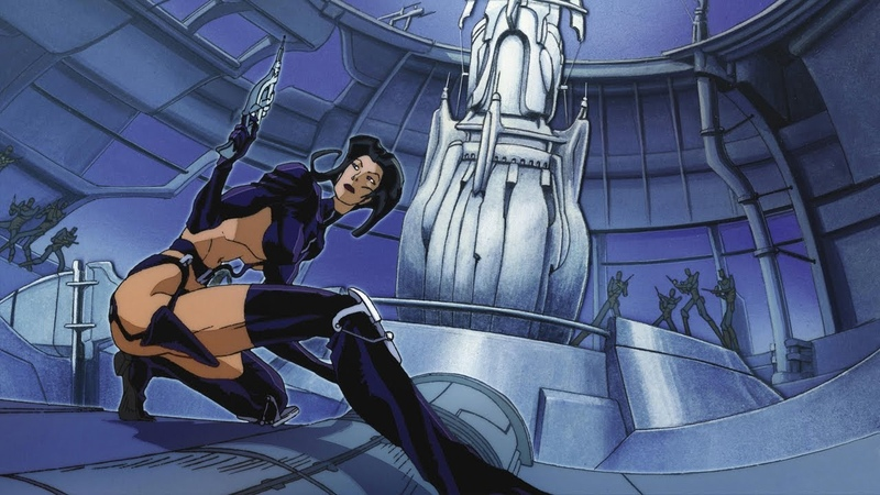 Aeon Flux - CD-ROM Commercial