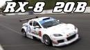 Mazda RX-8 3-rotor 20b race car BTCS