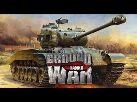 Ground War: tanks СУ-100 и Долбаный Пинг Обзорчик