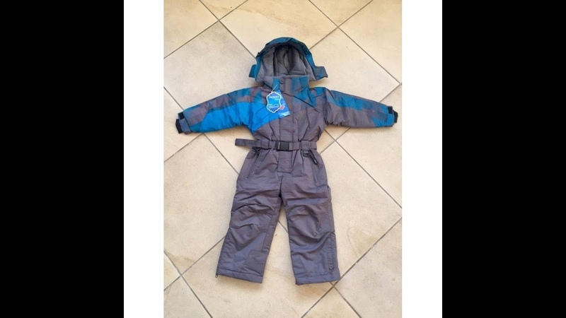 Зимний мембранный комбинезон Ok-Way (YDI) цвет Grey Blue. 0/-25