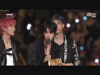 181212 BTS - Worldwide Icon Of The Year @ 2018 MAMA Fans' Choice in Japan