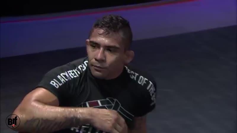 Marcelo Mafra vs Gilbert Burns Black Belt CBD