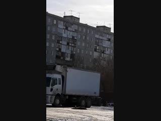 Падение с 7 этажа на ул. Мельничная, 9 ()