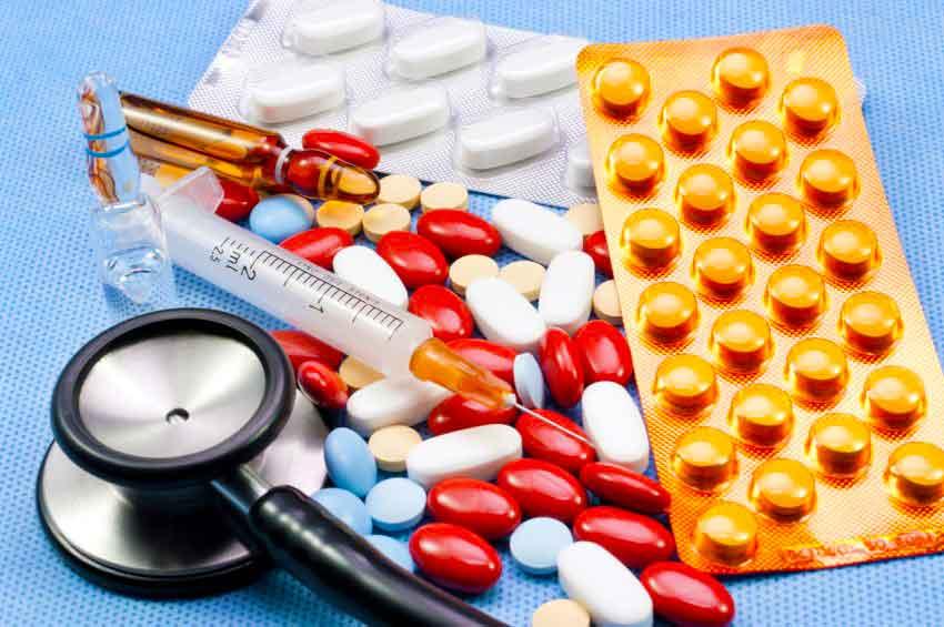 Различные виды лекарств от гепатита