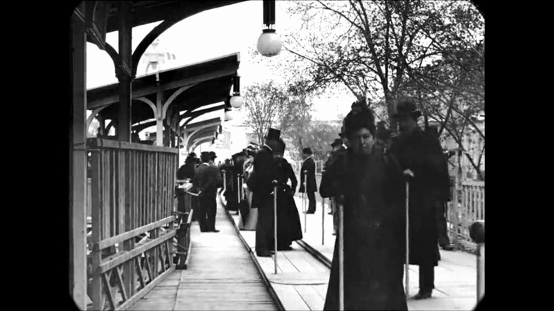 Late 1890s - A Trip Through Victorian Paris, France (speed corrected w added sound)