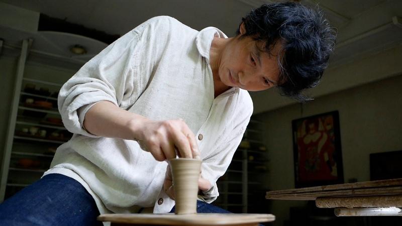 Kazuhiko Kudo, a Japanese potter in Hokkaido