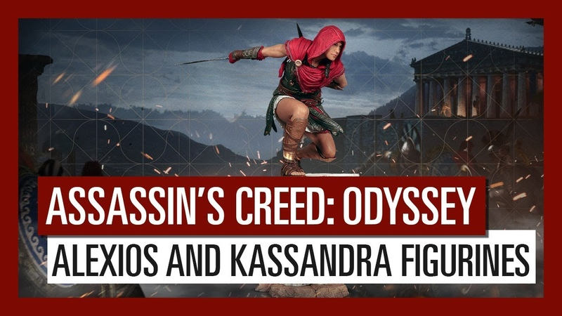 PS4\XBO - Assassin's Creed Odyssey (Medusa Collector's Edition, Kassandra Alexios Figurines)