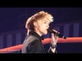 Fancam 091229 SHINee Jonghyun sings Gone (N Sync) @ Gayo daejun