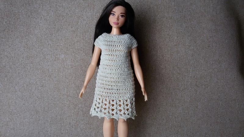 Sukienka dla Barbie - Szydełko