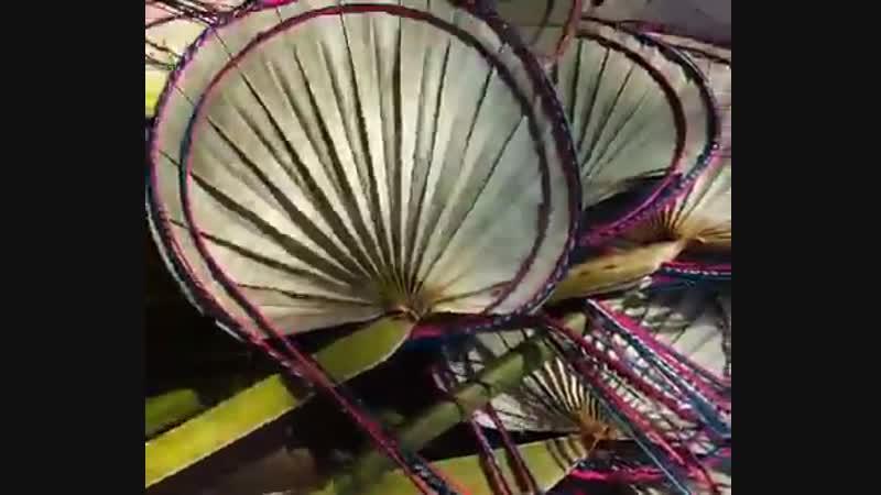 Бенгальский веер своими руками
