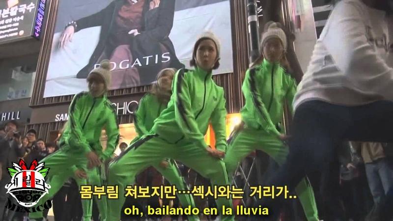 크레용팝 - 뿅송, Crayon pop, Bbyong song ( sub español)