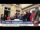 Macron ose encore plaisanter : Benalla na jamais détenu les codes nucléaires !
