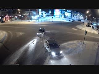 Перекрёсток Парковая и пр.Ленина