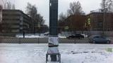 Изготовление и монтаж стеллы. г. Екатеринбург, ул Сортировочная 16.