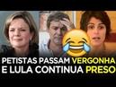 PETISTAS PASSAM VERGONHA E LULA CONTINUA PRESO Renan Santos e Rubinho Nunes