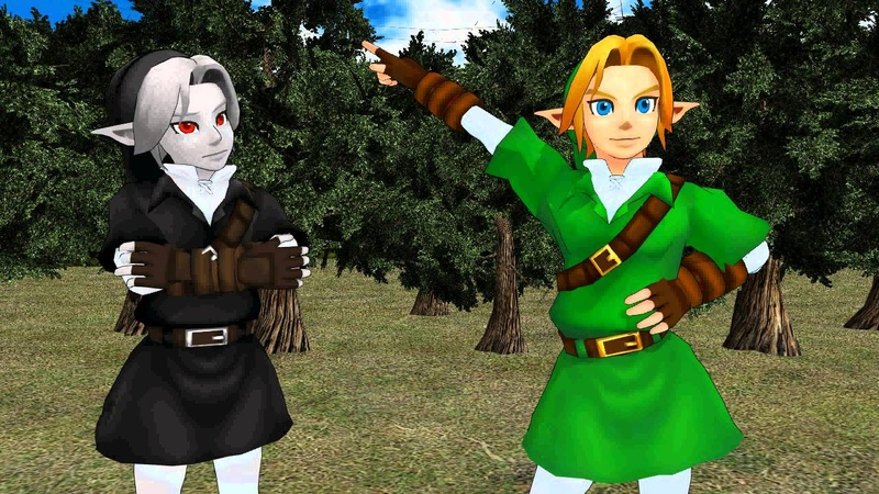 [MMD] Tree powers activate meme (Link,Dark Link, Vaati)