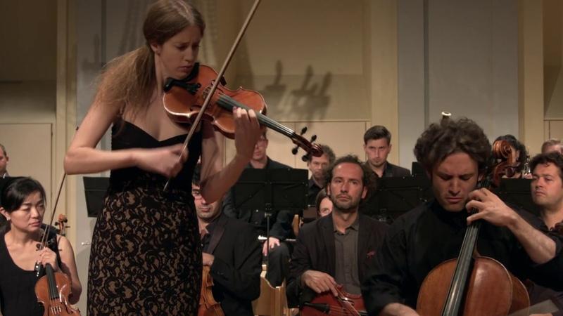 Johannes Brahms double concerto op 102 Vilde Frang Nicolas Altstaedt CHAARTS