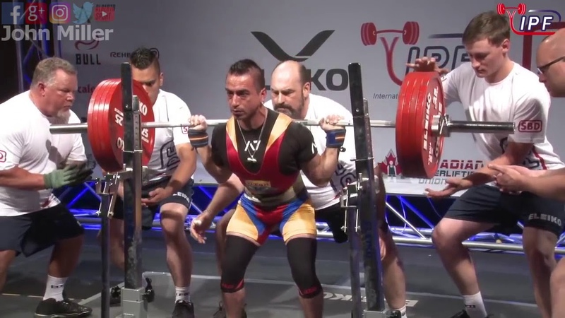 Franklin Leon - 602.5kg 2nd Place 59kg - IPF World Classic Powerlifting Championships 2018