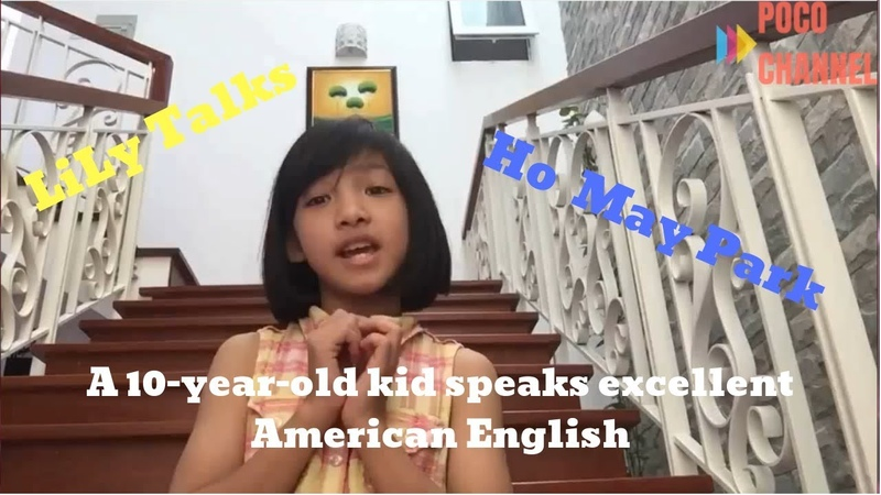 A 10-year-old kid speaks excellent American English | POCO English