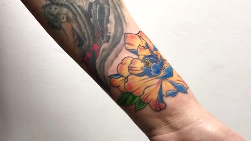 Салон Elite Tattoo мастер Зоя Бергер