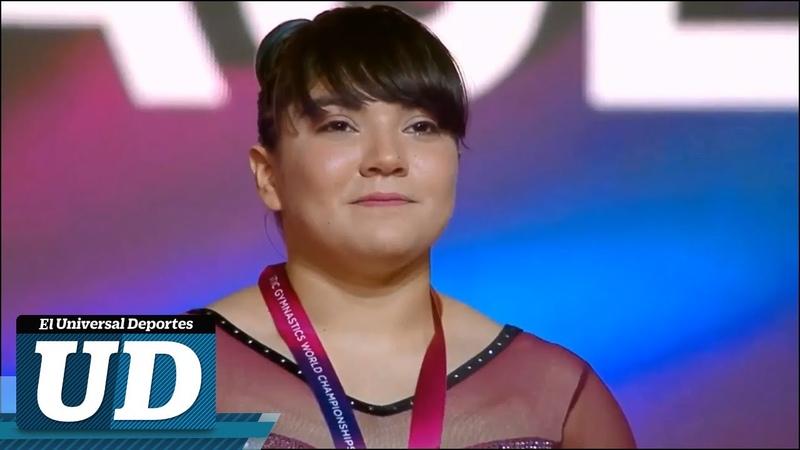 Así fue como Alexa Moreno ganó la medalla de bronce en el Mundial de Gimnasia