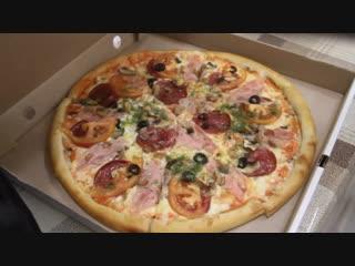 Кафе бар Gusto Элиста - Приготовление пиццы! 89615448887