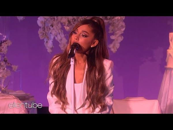 Ariana Grande Thank U Next (World Premiere) The Ellen Show 2018 - 1080p HD